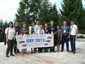 Photo: ISEF'2013 Organising Team and MK Participants