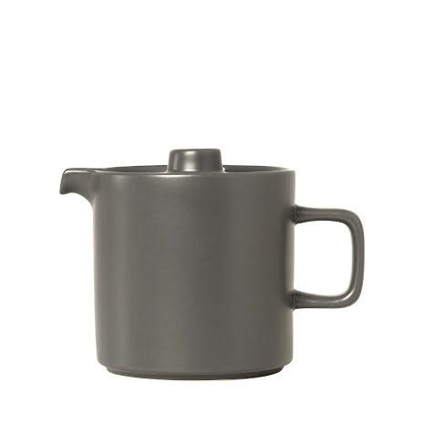 PILAR Teapot, H 13,5 cm, T 18 cm, Ø 12 cm, V 1 l Pewter