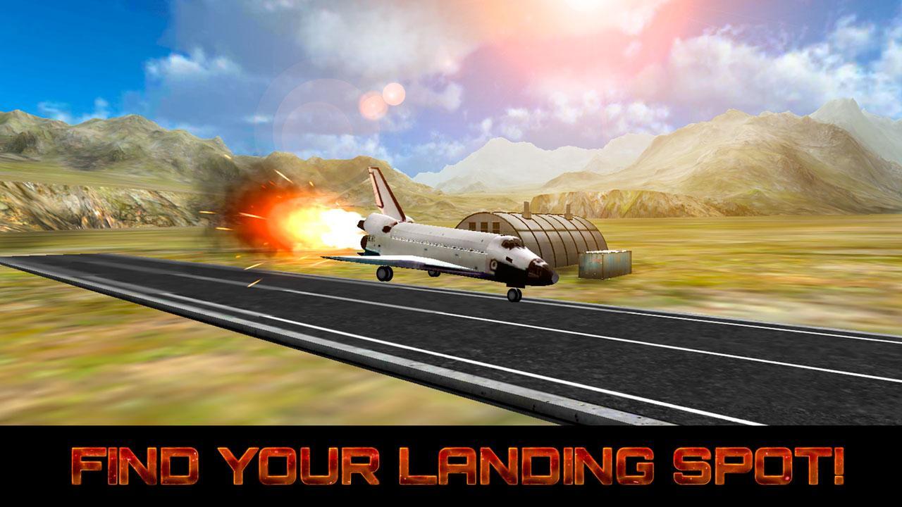 land the space shuttle simulator - photo #18