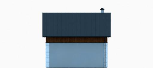G320 - Budynek rekreacji indywidualnej - Elewacja tylna