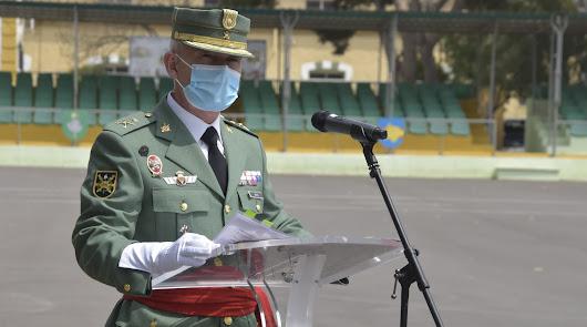 El general Marín toma posesión con una reivindicación de los valores legionarios