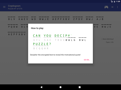 Cryptogram 1.8.3 screenshots 9