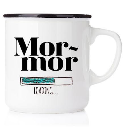 Emaljmugg - Mormor loading