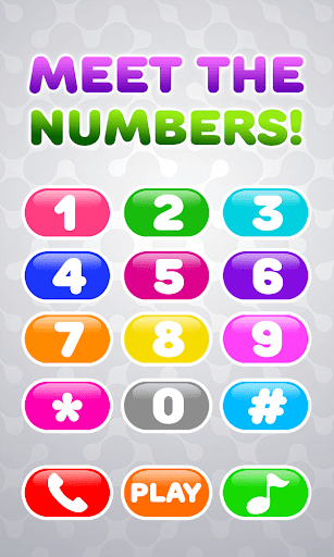 Baby Phone for Kids - Learning Numbers and Animals  screenshots 1