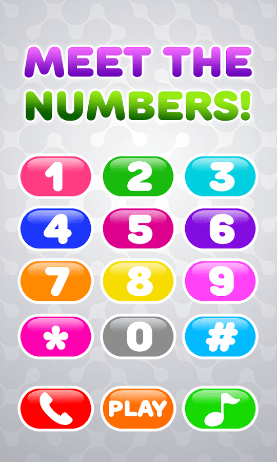 Baby Phone for Kids - Learning Numbers and Animals- screenshot