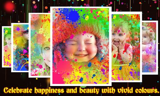 Color Splash Photo Frames