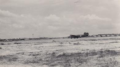 Photo: B-24.   Ft. Myers Air Base.  Ft. Myers, FL.  Spring 1942.