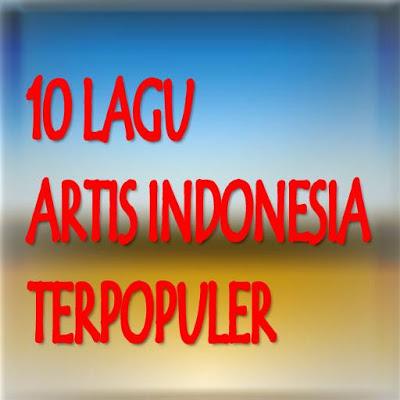 10 lagu Artis Indonesia - screenshot