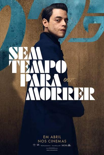 Poster de 007 - sem tempo para morrer
