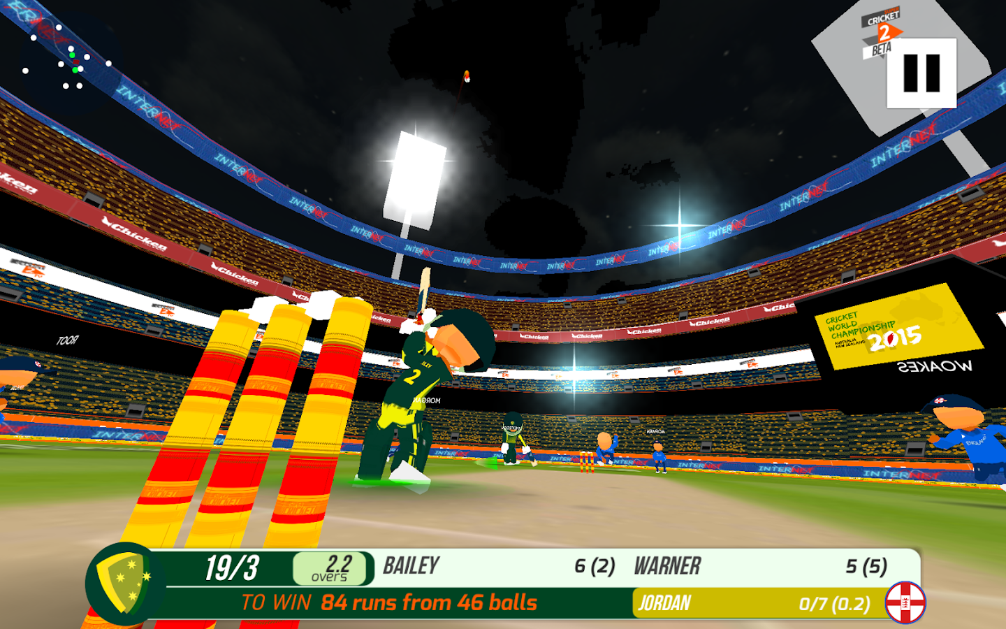 SUPER CRICKET 2- screenshot