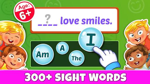 Sight Words - PreK to 3rd Grade Sight Word Games 1.0.5 screenshots 1