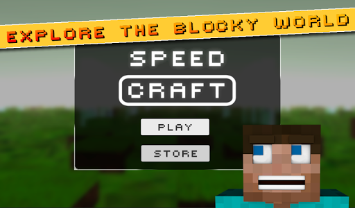 Speedcraft Minecraft style