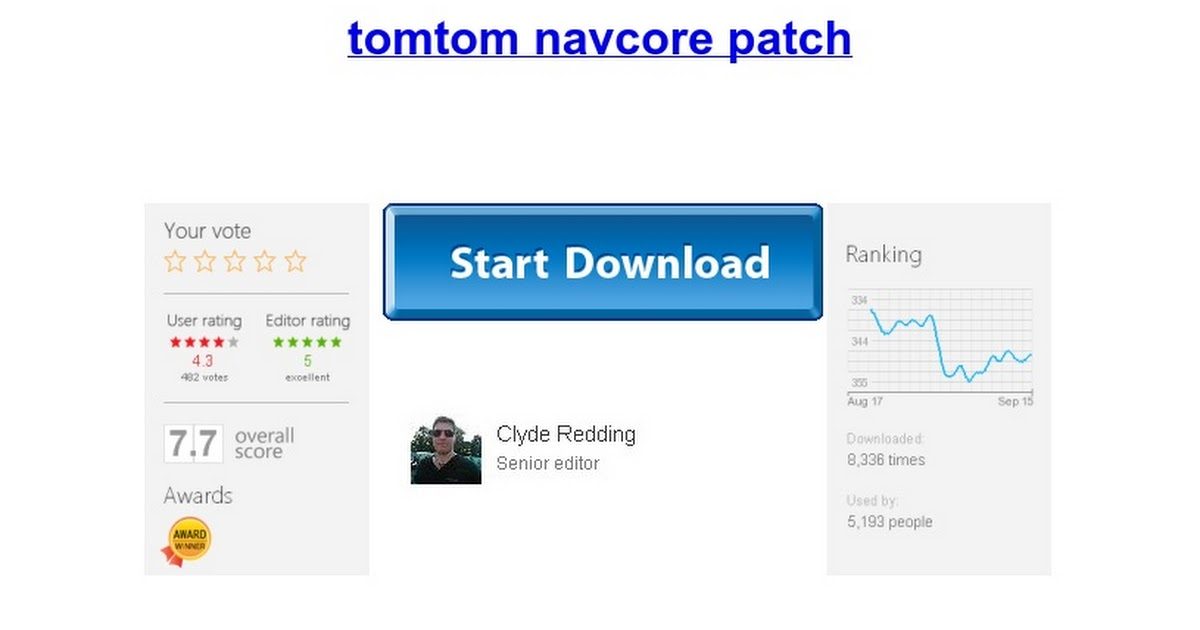 patch ttsystem navcore 9