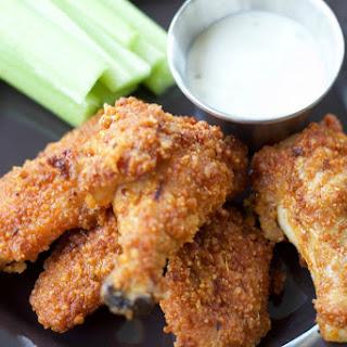 Crispy Baked Buffalo Wings (gluten free!)