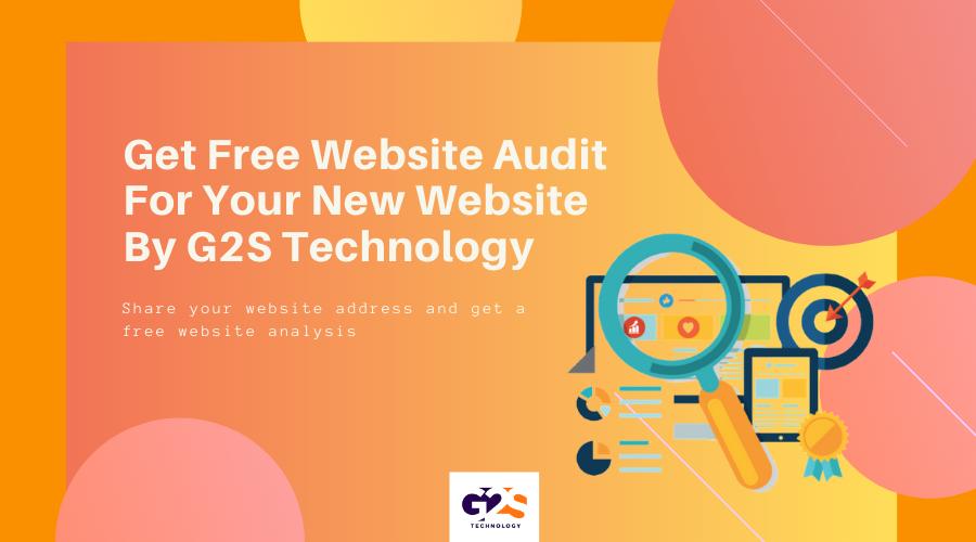 Website audit by G2S Technology