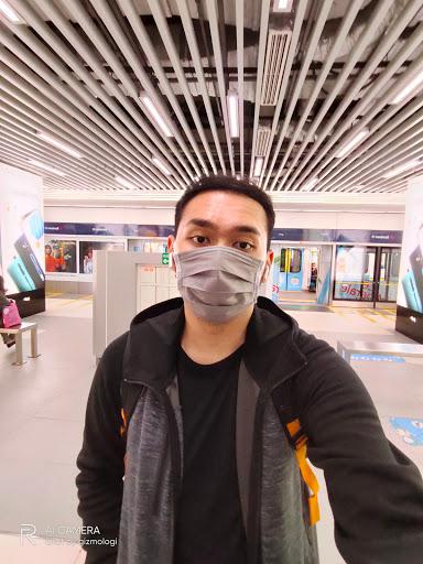 Hasil foto Selfie kamera depan ultra wide-angle 8MP realme 6 Pro