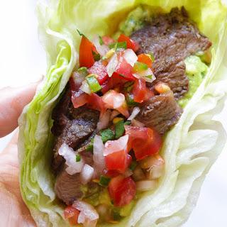 Grilled Steak Lettuce Tacos