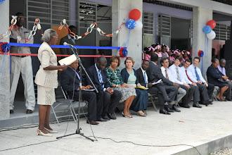 Photo: Inauguration de l'école Nationale de Dessources 10 octobre 2012