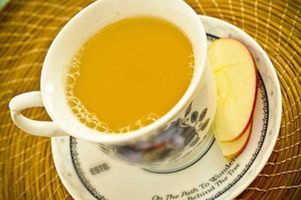 Chá de Maracujá e Maçã