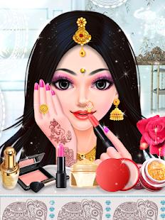 Indian Bride Fashion Wedding Makeover And Makeup Screenshot Thumbnail