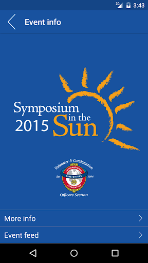 Symposium in the Sun