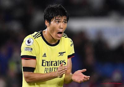 L'ancien trudonnaire Tomiyasu récompensé à Arsenal