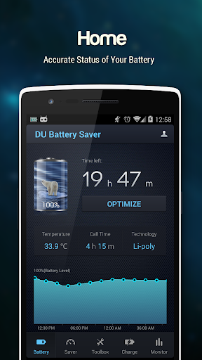 DU Battery Saver PRO & Widgets screenshot 1