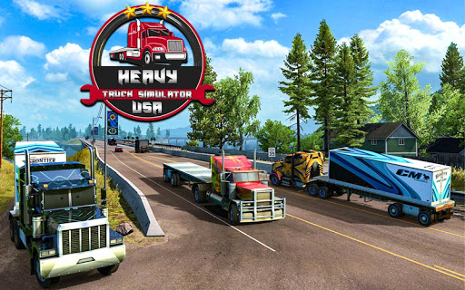 Heavy truck simulator USA apktram screenshots 21