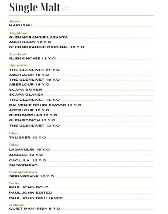 KOKO Asian Gastropub menu 22