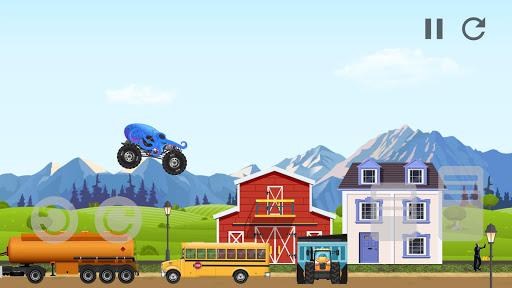 Code Triche Monster Truck Crot: Monster truck racing car games APK MOD screenshots 3