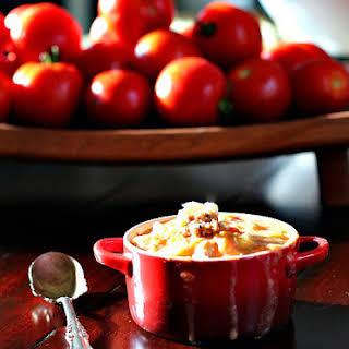 Creamy Tomato, Basil, Parmesan Soup.