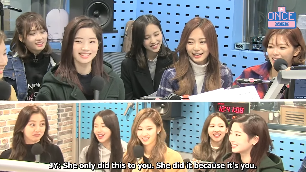 FULL ENG SUB 171110 SBS Power FM 'Choi hwajung's Powertime' with TWICE 34-50 screenshot