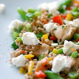 Chicken and Farro Confetti Salad