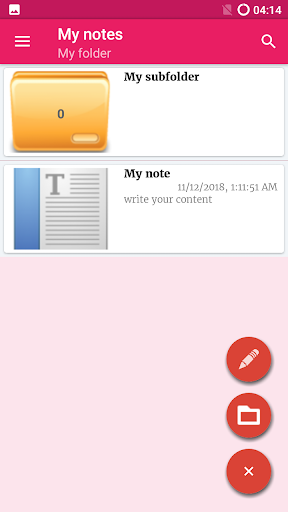 Notepad App screenshot 11