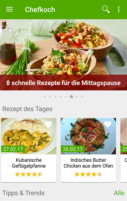 Chefkoch - Rezepte & Kochen – Android-Apps auf Google Play