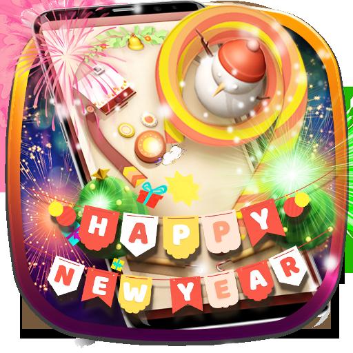 Happy New Year Pinball Theme(Classic 3D Pinball)