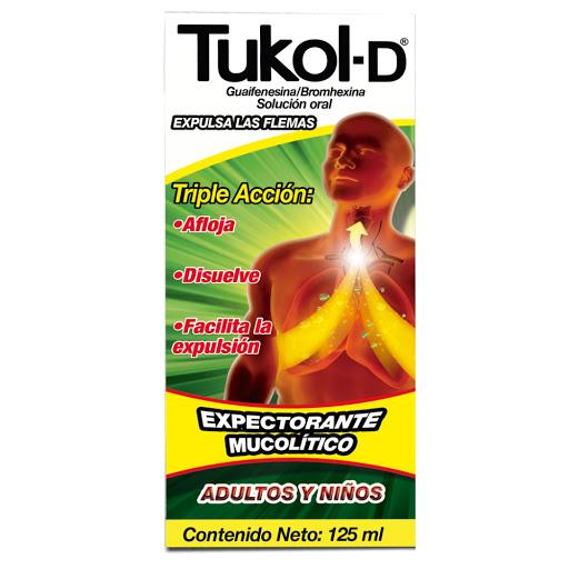 Tukol Tos Expectorante Adultos y Niños 125 ML