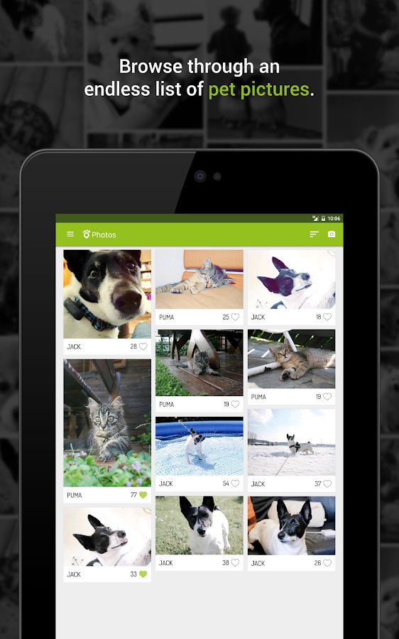 Tractive Photos- screenshot