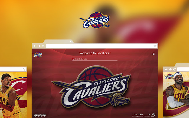OFFICIAL NBA Cleveland Cavaliers HD Tab Theme