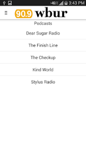 WBUR - screenshot thumbnail