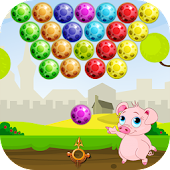 Baby Pig Bubble Shooter