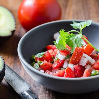 Salsa Mexicana (Pico De Gallo) Recipe