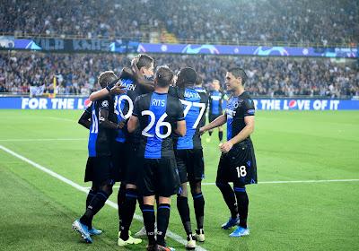 21 Brugeois retenus pour les débuts du Club en Champions League