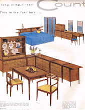 Photo: The Drexel Counterpoint dining room and bedroom