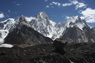 Photo: Gasherbrum IV (7925m).