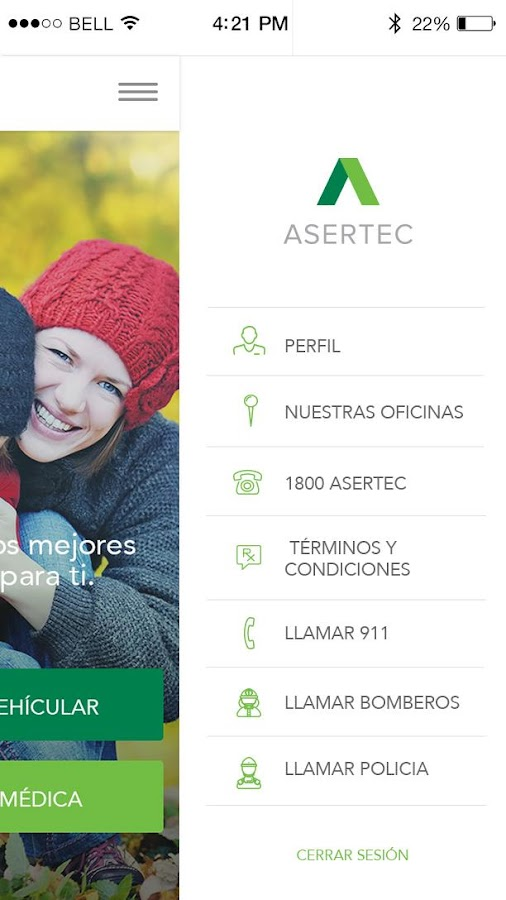 Asertec Plus- screenshot