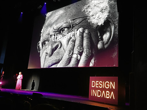 Our special Arch: A prototype of an arch designed by Swedish architects Snøhettain in collaboration with Local Studio to pay tribute to Archbishop Emeritus Desmond Tutu was unveiled at the 2017 Design Indaba. Picture: SUPPLIED