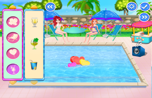 Pool Party For Girls 1.0.6 screenshots 4