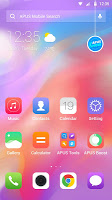 Colorful Simple PhoneX OS - APUS launcher theme
