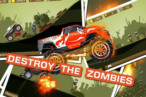 Mad Truck 2 -- physics monster truck hit zombie painmod.com screenshots 4
